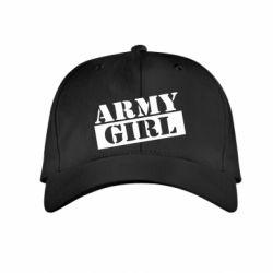 Дитяча кепка Army girl