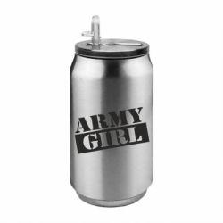 Термобанка 350ml Army girl