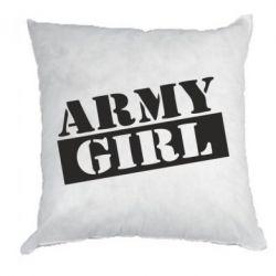 Подушка Army girl