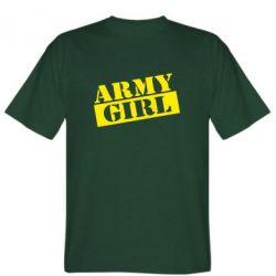 Футболка Army girl