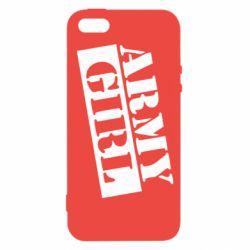 Чохол для iphone 5/5S/SE Army girl