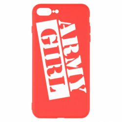 Чохол для iPhone 7 Plus Army girl