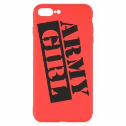 Чохол для iPhone 8 Plus Army girl