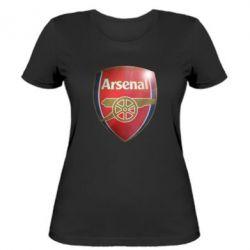 Женская футболка Arsenal 3D - FatLine