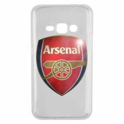 Чохол для Samsung J1 2016 Arsenal 3D