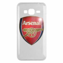 Чохол для Samsung J3 2016 Arsenal 3D