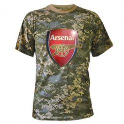Камуфляжная футболка Arsenal 3D - FatLine