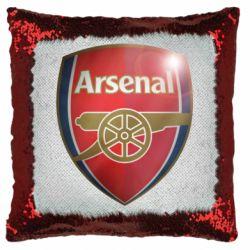 Подушка-хамелеон Arsenal 3D
