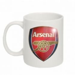 Кружка 320ml Arsenal 3D - FatLine