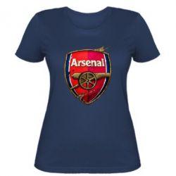 Женская футболка Arsenal Art Logo - FatLine