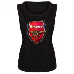 Женская майка Arsenal Art Logo - FatLine