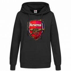 Женская толстовка Arsenal Art Logo - FatLine