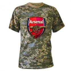 Камуфляжная футболка Arsenal Art Logo - FatLine
