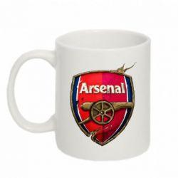 Кружка 320ml Arsenal Art Logo - FatLine