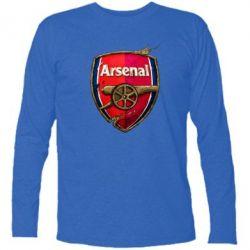 Футболка с длинным рукавом Arsenal Art Logo - FatLine