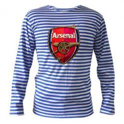 Тельняшка с длинным рукавом Arsenal Art Logo - FatLine