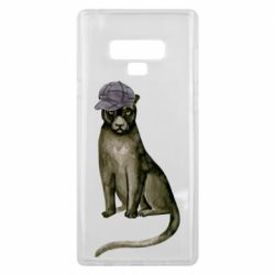 Чохол для Samsung Note 9 Panther in a hat