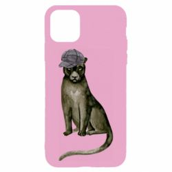 Чохол для iPhone 11 Panther in a hat