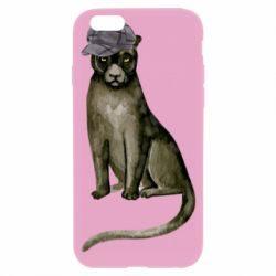Чохол для iPhone 6/6S Panther in a hat