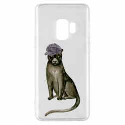 Чохол для Samsung S9 Panther in a hat