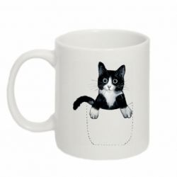 Кружка 320ml Art cat in your pocket