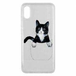 Чехол для Xiaomi Mi8 Pro Art cat in your pocket
