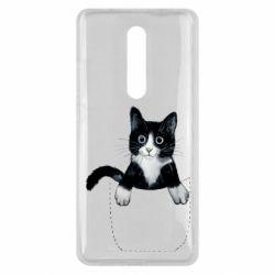 Чехол для Xiaomi Mi9T Art cat in your pocket