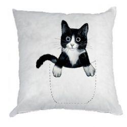 Подушка Art cat in your pocket