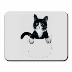 Коврик для мыши Art cat in your pocket