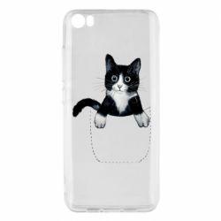 Чехол для Xiaomi Mi5/Mi5 Pro Art cat in your pocket