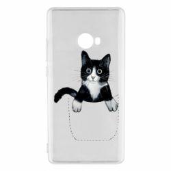 Чехол для Xiaomi Mi Note 2 Art cat in your pocket