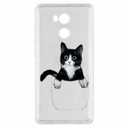 Чехол для Xiaomi Redmi 4 Pro/Prime Art cat in your pocket