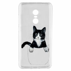 Чехол для Xiaomi Redmi Note 4 Art cat in your pocket