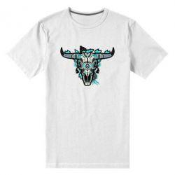 Чоловіча стрейчева футболка Art horns