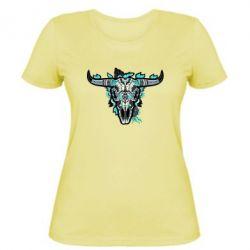 Жіноча футболка Art horns