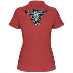 Женская футболка поло Art horns