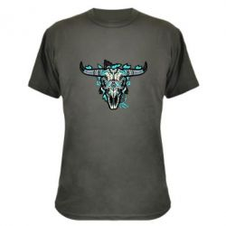 Камуфляжная футболка Art horns