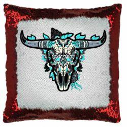 Подушка-хамелеон Art horns