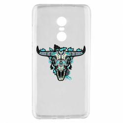 Купить Козерог, Чехол для Xiaomi Redmi Note 4 Art horns, FatLine