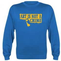 Реглан Art is not crime - FatLine