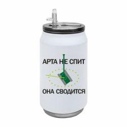 Термобанка 350ml ARTA does not sleep, it comes down