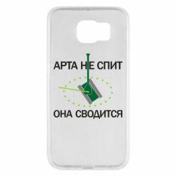 Чохол для Samsung S6 ARTA does not sleep, it comes down