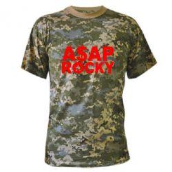 Камуфляжная футболка ASAP ROCKY