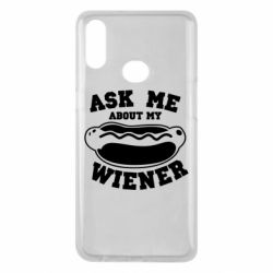 Чохол для Samsung A10s Ask me about my wiener