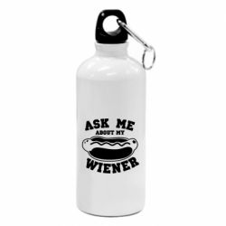 Фляга Ask me about my wiener