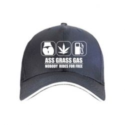 Кепка Ass Grass Gas