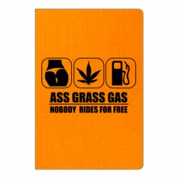 Блокнот А5 Ass Grass Gas
