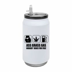 Термобанка 350ml Ass Grass Gas