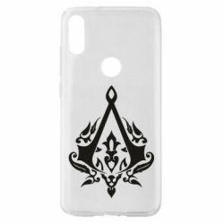 Чехол для Xiaomi Mi Play Assassin Creed Logo with patterns