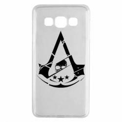 Чехол для Samsung A3 2015 Assassin's Creed and skull 1